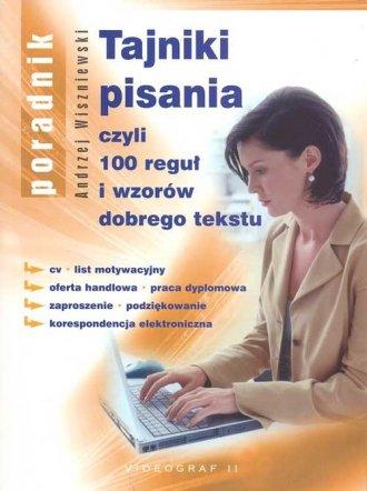 Tajniki pisania - okładka książki