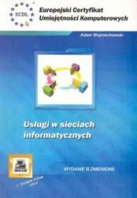 Usługi w sieciach informatycznych - okładka książki