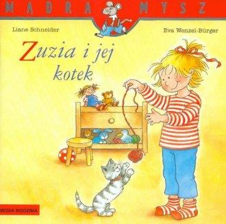 Zuzia i jej kotek - okładka książki
