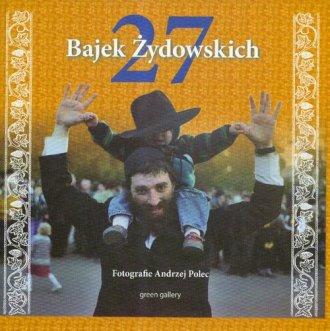 27 bajek żydowskich - okładka książki