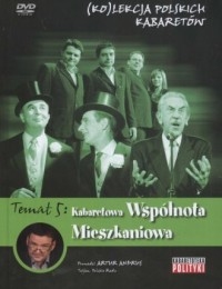 Kolekcja polskich kabaretów cz. 5. Kabaretowa wspólnota mieszkaniowa (DVD) - okładka książki