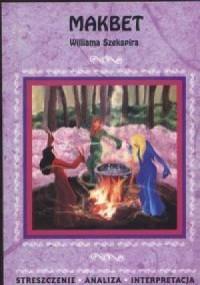 Makbet Williama Szekspira - okładka książki