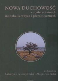 Nowa duchowość w społeczeństwach - okładka książki