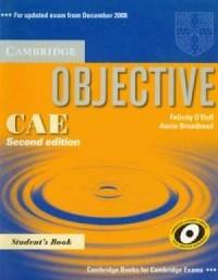 Objective CAE students book - okładka podręcznika