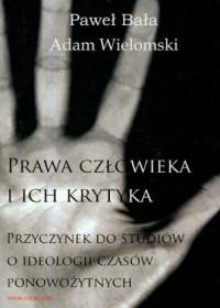 Prawa człowieka i ich krytyka - okładka książki