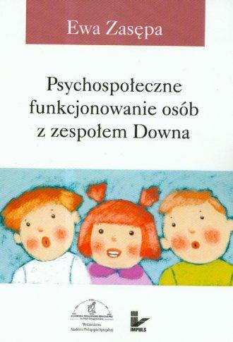Psychospołeczne funkcjonowanie - okładka książki