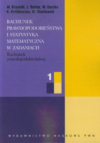 Rachunek prawdopodobieństwa i statystyka - okładka książki