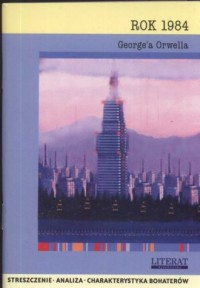 Rok 1984 Georgea Orwella - okładka książki
