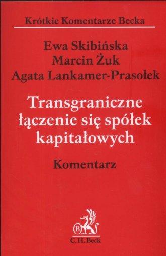 Transgraniczne łączenie się spółek - okładka książki