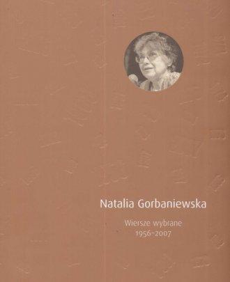 Wiersze wybrane 1956 - 2007 - okładka książki