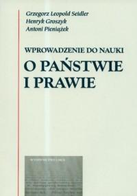Wprowadzenie do nauki o państwie i prawie - okładka książki