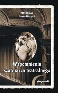 Wspomnienia szatniarza teatralnego - okładka książki