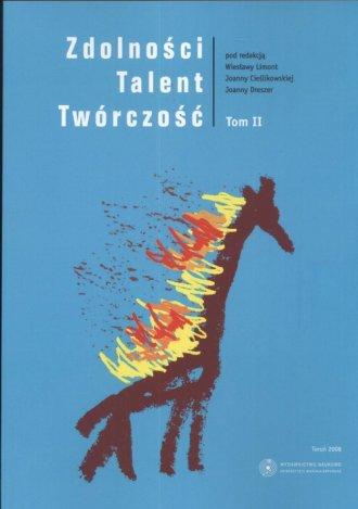 Zdolności. Talent. Twórczość. Tom - okładka książki