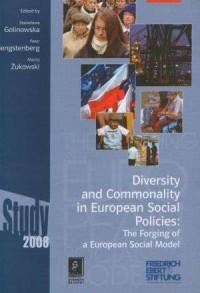 Diversity and commonality in European social policies - okładka książki