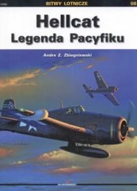 Hellcat. Legenda Pacyfiku. Seria: Bitwy lotnicze nr 8 - okładka książki