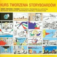 Kurs tworzenia storyboardów - okładka książki