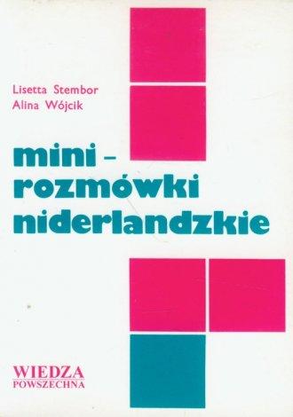 Minirozmówki niderlandzkie - okładka książki