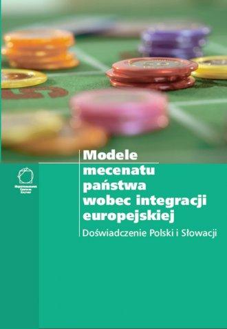 Modele mecenatu państwa wobec integracji - okładka książki