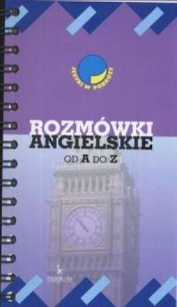 Rozmówki angielskie od A do Z - okładka podręcznika