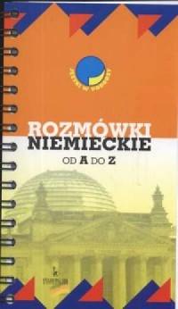 Rozmówki niemieckie od A do Z - okładka podręcznika