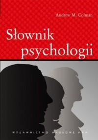 Słownik psychologii - okładka książki