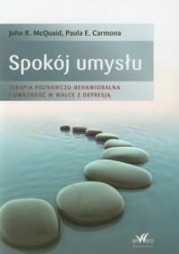 Spokój umysłu - okładka książki