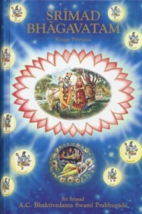 Śrimad Bhagavatam. Księga pierwsza - okładka książki