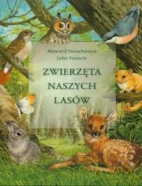 Zwierzęta naszych lasów - okładka książki