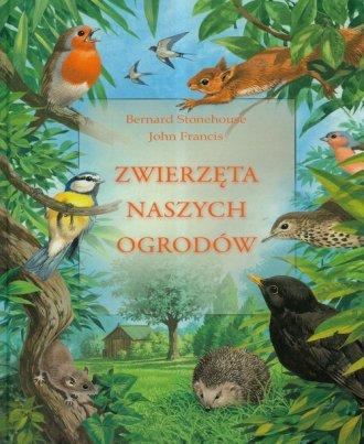 Zwierzęta naszych ogrodów - okładka książki