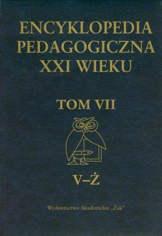 Encyklopedia pedagogiczna XXI wieku. - okładka książki