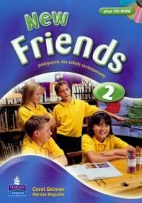 New Friends 2. Podręcznik dla szkoły podstawowej (+ CD) - okładka podręcznika