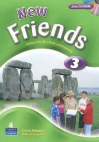 New Friends 3. Podręcznik dla szkoły podstawowej (+ CD) - okładka podręcznika
