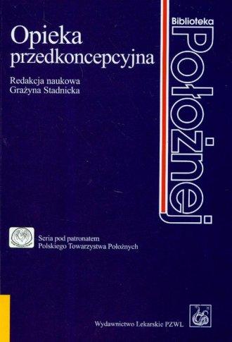 Opieka przedkoncepcyjna - okładka książki