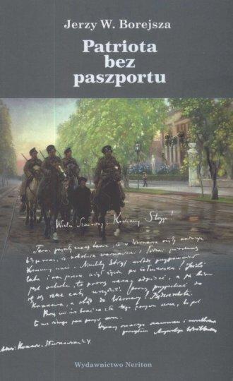Patriota bez paszportu - okładka książki