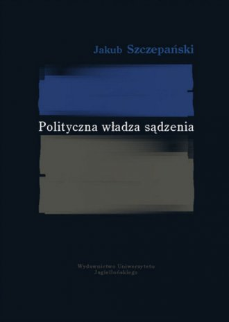 Polityczna władza sądzenia - okładka książki