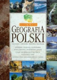 Ilustrowana geografia Polski - okładka książki