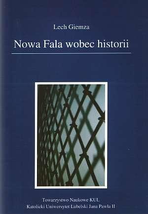 Nowa Fala wobec historii - okładka książki