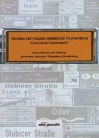 Pogranicze polsko-niemieckie po - okładka książki