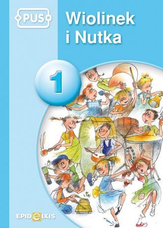 PUS 1. Wiolinek i Nutka - okładka podręcznika