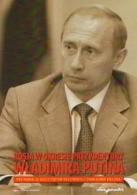 Rosja w okresie prezydentury Władimira Putina - okładka książki