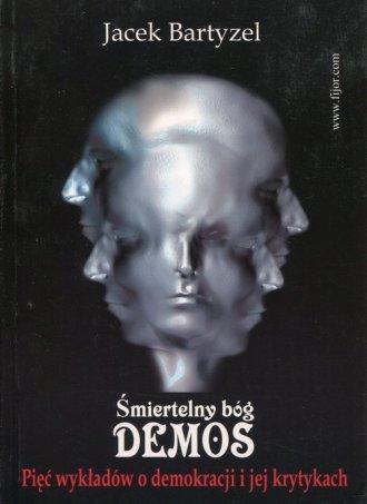 Śmiertelny bóg Demos - okładka książki