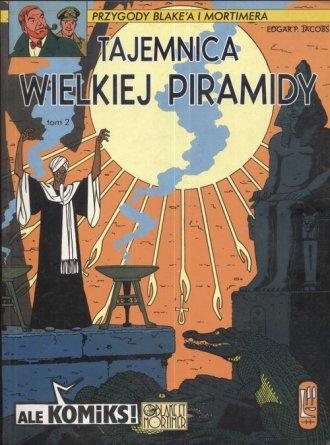 Tajemnica wielkiej piramidy 2 - okładka książki