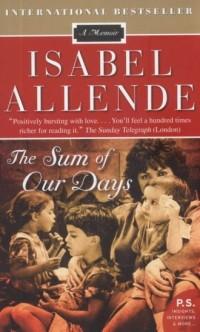 The Sum of Our Days - okładka książki