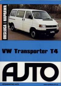 VW Transporter T4. Obsługa i naprawa - okładka książki