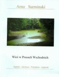 Wieś w Prusach Wschodnich - okładka książki