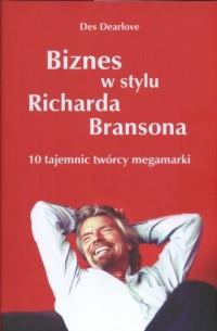 Biznes w stylu Richarda Bransona - okładka książki