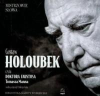 Doktor Faust. Czyta: Gustaw Holoubek (CD) - pudełko audiobooku