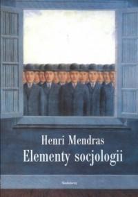 Elementy socjologii - okładka książki