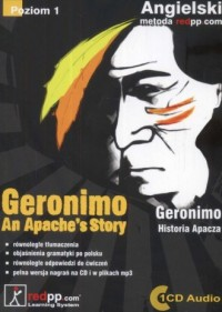 Geronimo. Historia Apacza (+ CD) - okładka podręcznika