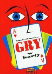 Gry w karty - okładka książki
